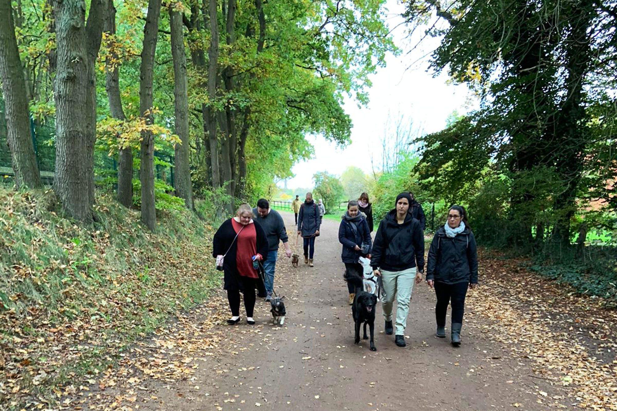 Social Walk im Autal in Wedel